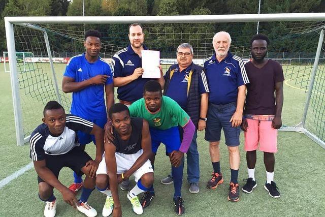 Fußball als Flüchtlingshilfe