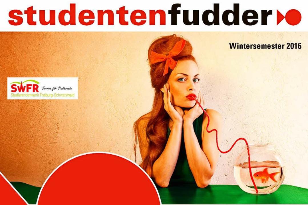 Auf dem Studentenfudder-Cover: ein Selbstportrait der Fotografin Janine Machiedo  | Foto: Titelbild Janine Machiedo