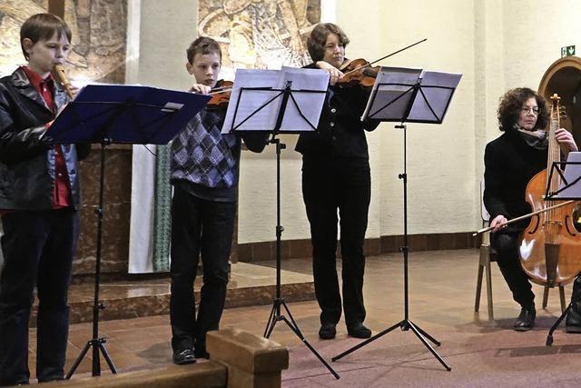 Musik zur Marktzeit aus Barock und Renaissance