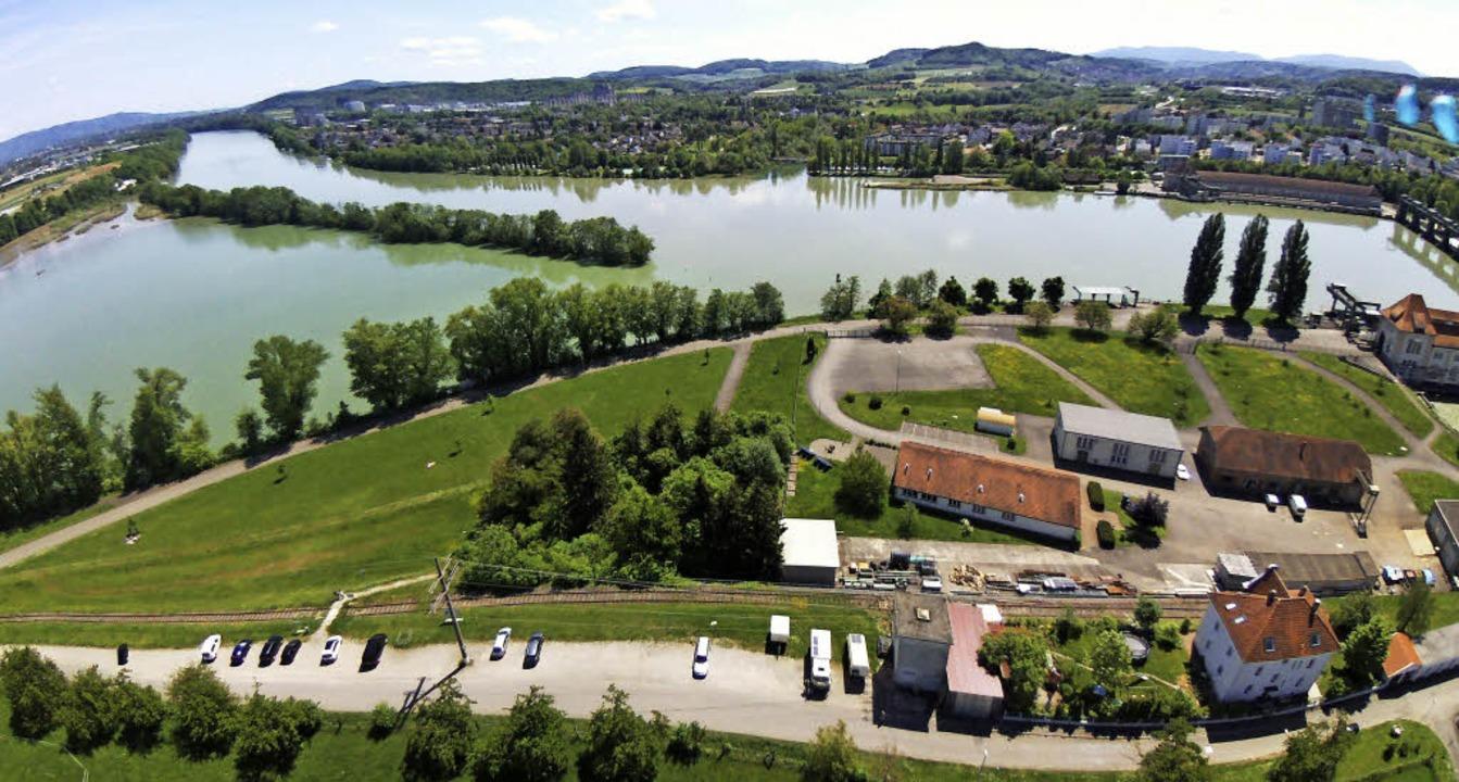Gegen den Bau der Anlagen zur Wasserst...ndet sich die neue Bürgerinitiative.    | Foto: Klaus Essner