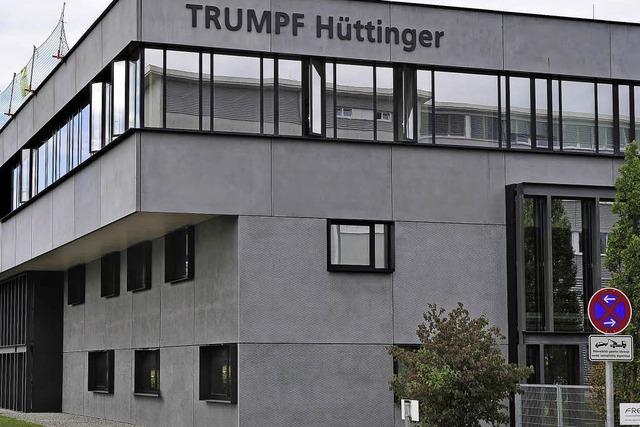 Beim Freiburger Generatorenbauer Hüttinger geht es aufwärts
