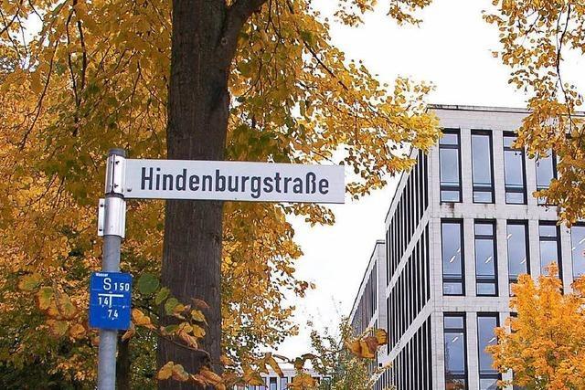 Kulturausschuss empfiehlt Erhalt der Hindenburgstraße