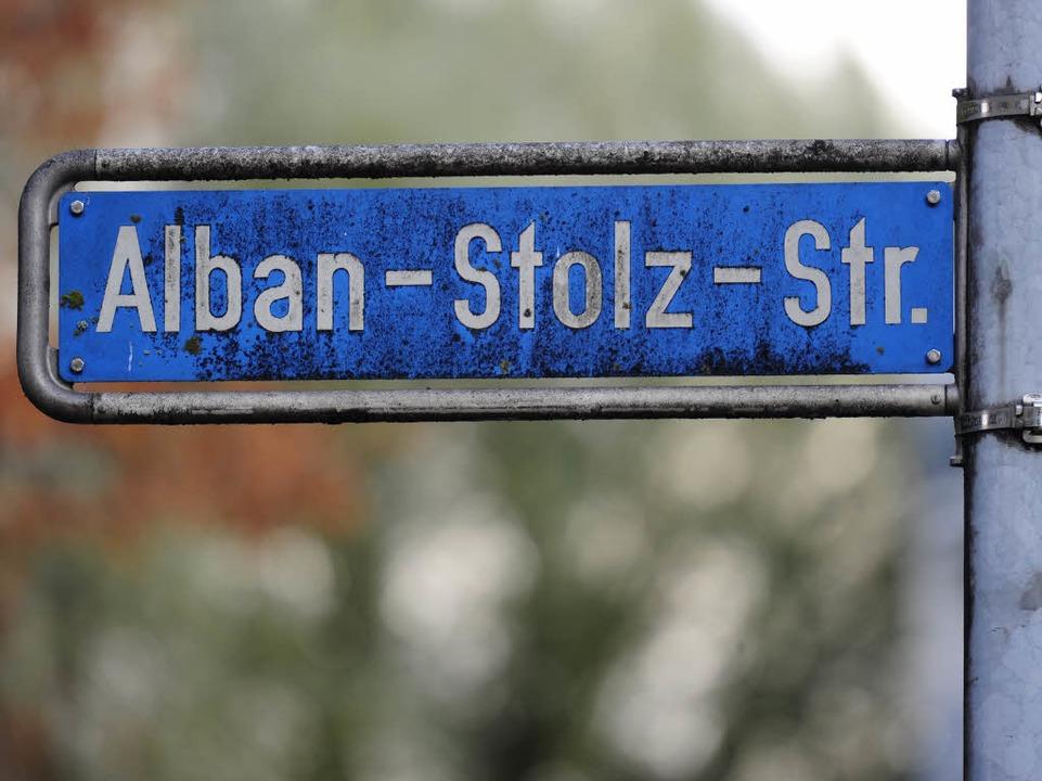 Auch die Alban-Stolz-Straße ist im Visier.    Foto: Ingo Schneider