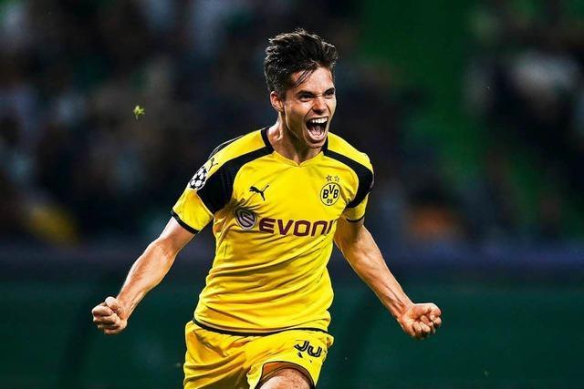 Borussia Dortmund feiert Musterschüler Julian Weigl