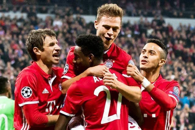 Bayern und Borussia Mönchengladbach siegen