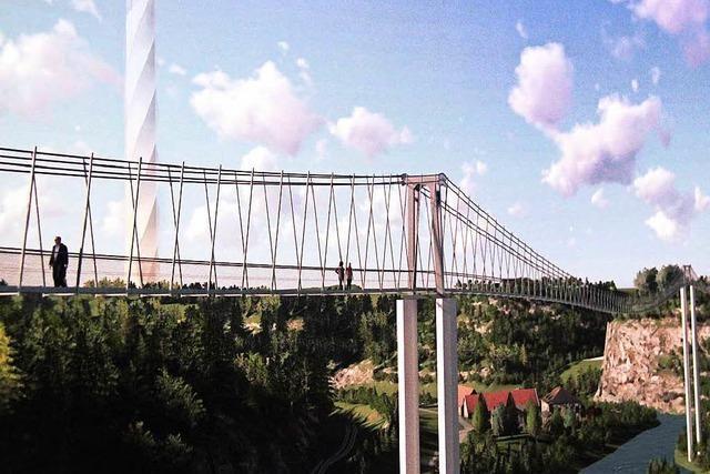 Bekommt Rottweil die längste Hängebrücke der Welt?