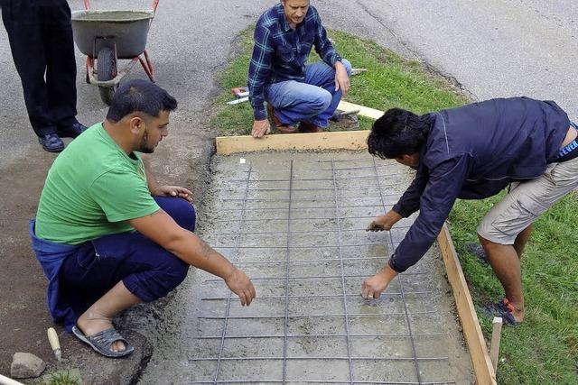 Wie Flüchtlinge im beschaulichen Kleinen Wiesental leben
