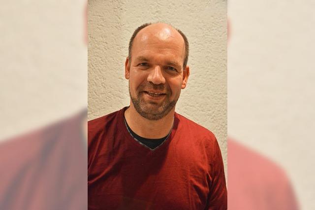 Markus Rasp ist Bundestagskandidat der Grünen im Wahlkreis Emmendingen-Lahr