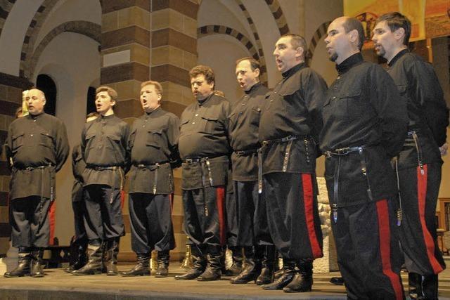 Don Kosaken Chor Serge Jaroff in Freiamt
