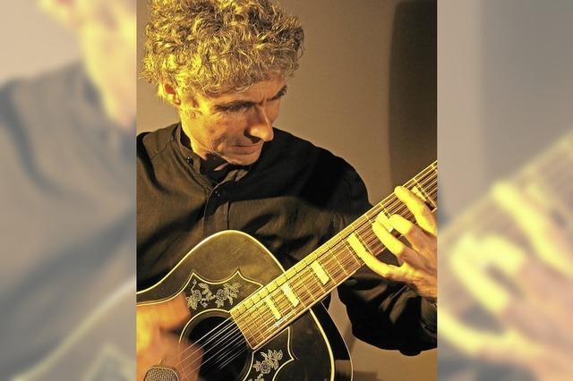 Gitarrenkonzert im Café Verkehrt in Murg-Oberhof