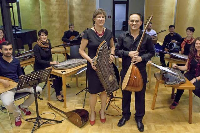 Konzert mit Zither und Balgma im Historischen Kaufhaus