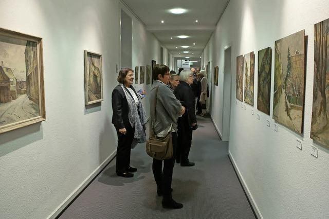 Ausstellung mit Wickertsheimer Ölgemälden