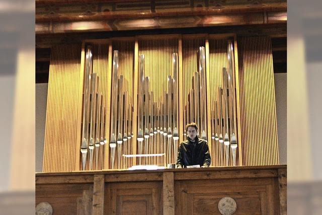 Die neue Orgel und Bach im Mittelpunkt