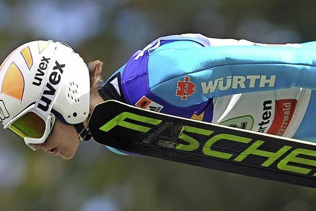 Weltklasse-Kombinierer Fabian Rießle und die Skispringer um Andreas Wank bei der DM in Oberhof