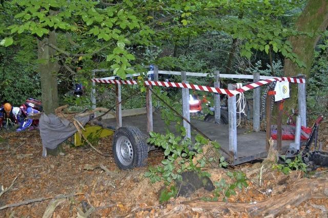 Bergwacht probt komplizierte Bergung