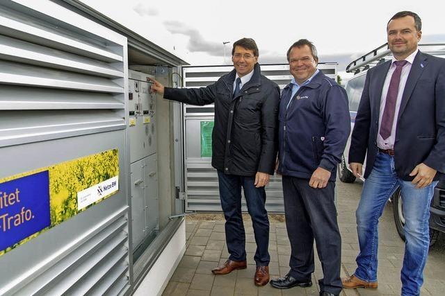 Erster Bioöl-Trafo für Ettenheim