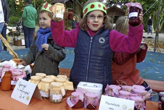 Markttag im Kindergarten