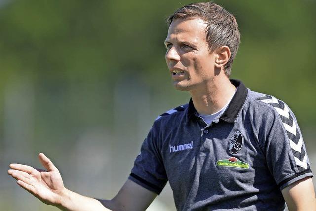 Trainer Christian Preußer über die Erfolgsserie des SC Freiburg II und den Weg zurück in die Regionalliga