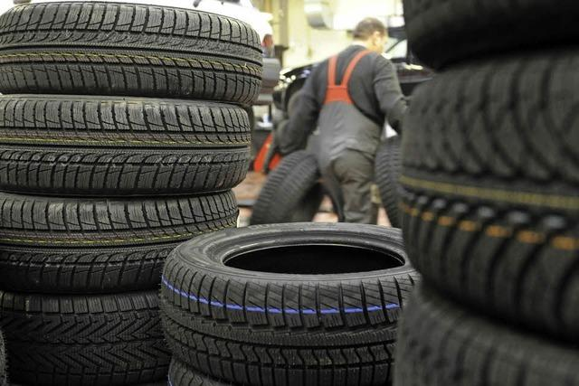 Neue Reifen für Eis und Schnee