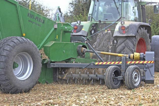 Landwirt bringt Steine ins Rollen