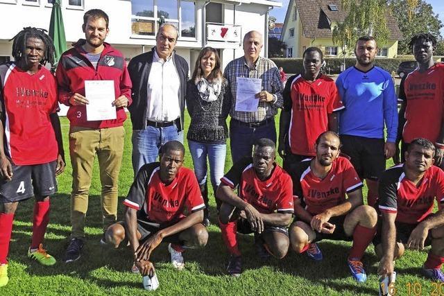 Integrationspreis für SC Kappel und FC Lahr-West