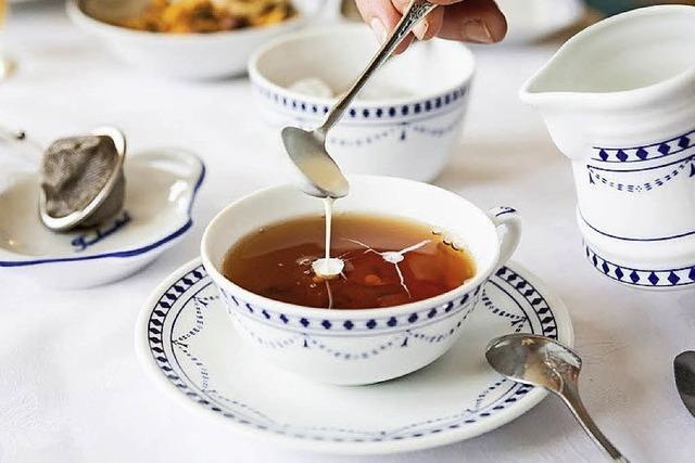 Teestunde beim Weltmeister