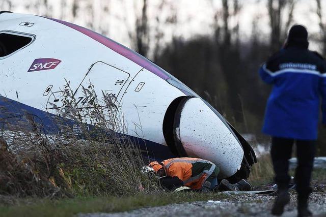 Nach TGV-Unfall: Anklage wegen fahrlässiger Tötung