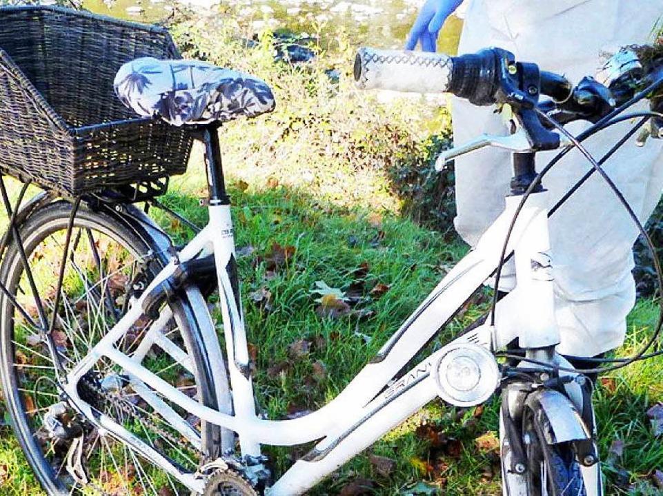 Das Fahrrad der getöteten Studentin  | Foto: Polizei