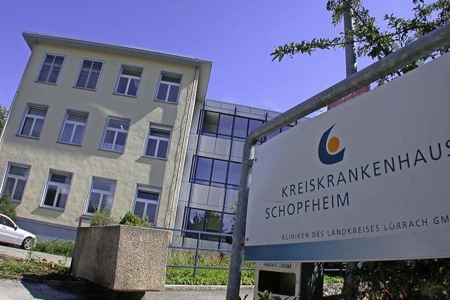 Werben für ein Zentralklinikum in Schopfheim