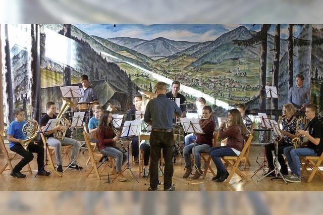 Jugendmusiker des Musikvereins Elzach-Oberprechtal