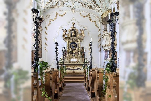 Künstlerische Höhepunkte von Schloss Bürgeln bei Schliengen
