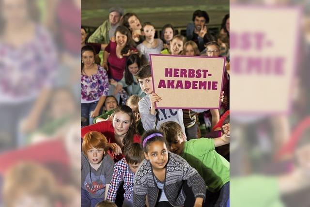 Herbstakademie in den Ferien für Kinder und Jugendliche