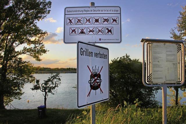 Viel Ärger mit rücksichtslosen Gästen am Baggersee