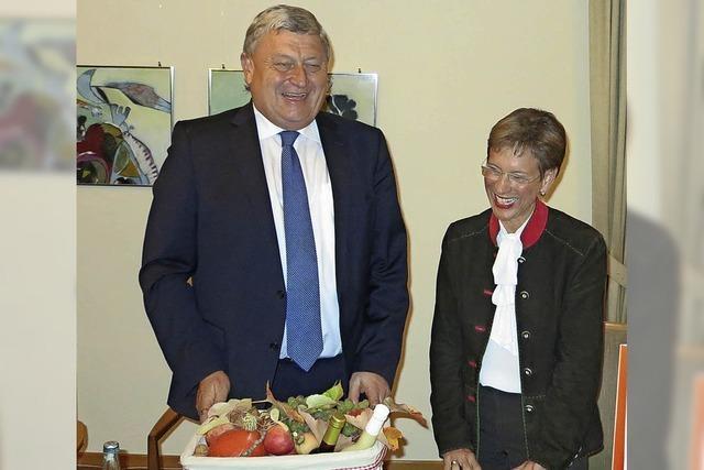 Landrätin in Schliengen