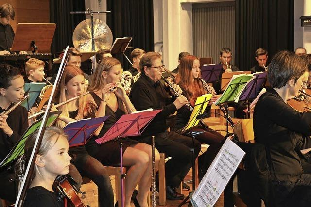 Ein besonderes Jubiläumsorchester der Generationen