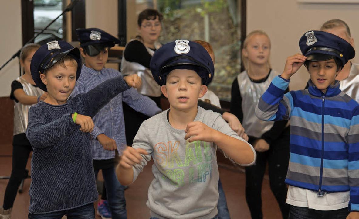 Spaß und Leidenschaft: Erst sechs Woch...öffentlichen Auftritt als Breakdancer.    Foto: Olaf Michel