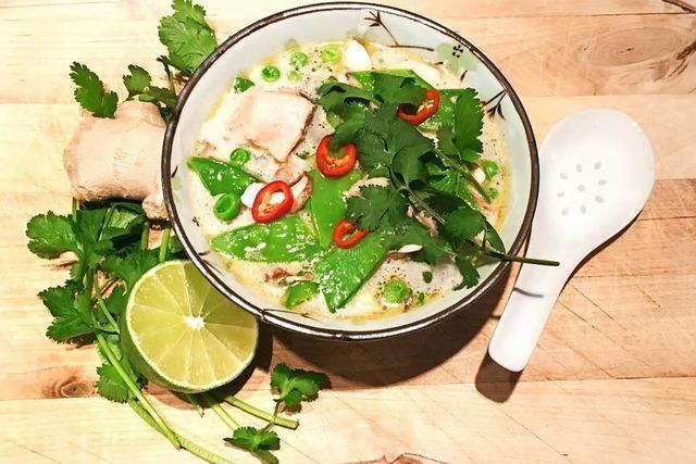 So gelingt die Hühnersuppe Tom Kha Gai