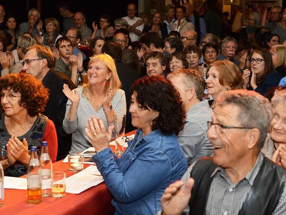 Dem Publikum in der ausverkauften Wodanhalle gefiel's.  | Foto: Rita Eggstein