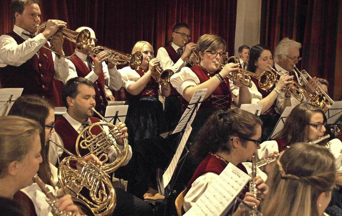 Großer Beliebtheit erfreute sich auch ... Wunschkonzert des Musikvereins Urberg  | Foto: Karin Stöckl-Steinebrunner