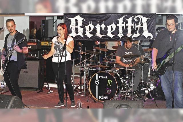 Vier Metalbands rocken das Alte Gefängnis
