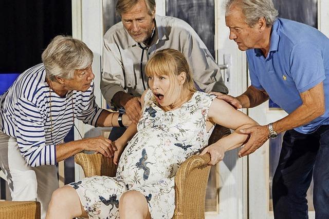 Flotter Senioren-Dreier im schicken Haus auf Mallorca