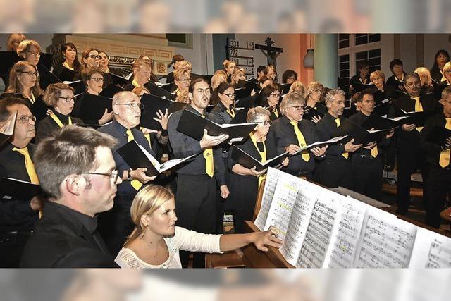 Film ab für das Chorios-Konzert