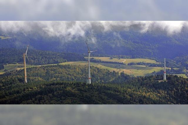 Windpark-Bauer hoffen auf Windstille