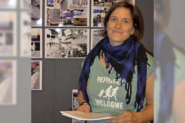 Eine Kämpferin gegen das Vergessen beim Umgang mit Flüchtlingen