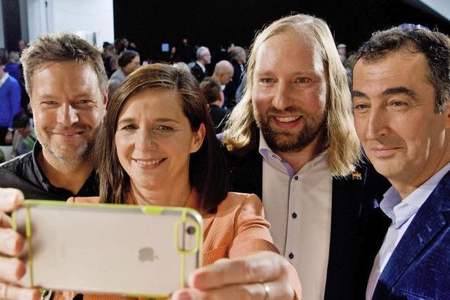 Grünen startenKampagne zur Nominierung ihrer Spitzenkandidaten