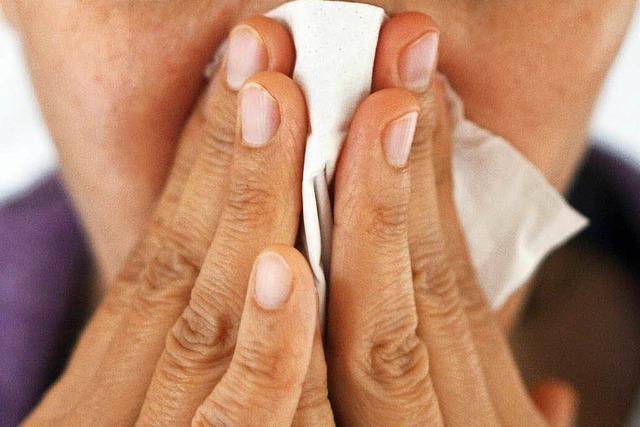 Grippe-Saison: Wie man schlimmen Keimen entkommen kann