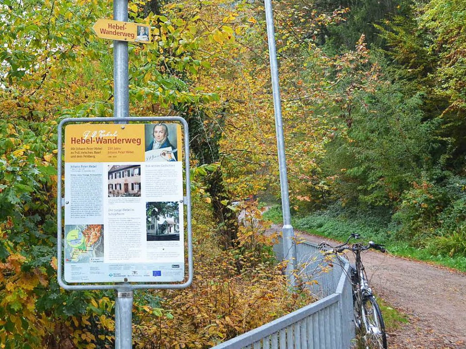 An der Wiese-Quelle am Feldberg beginnt der Hebel-Wanderweg.  | Foto: Jana Schönbett