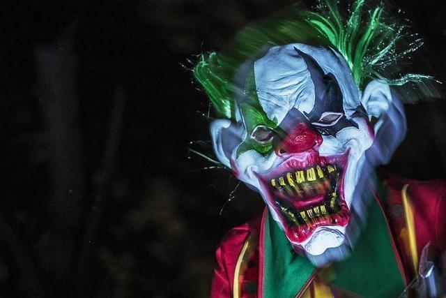 Die Horror-Clown-Welle erreicht den Südwesten