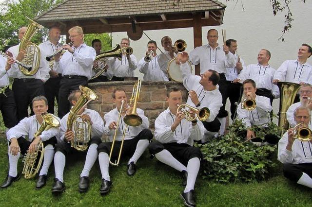 Mit Mathias Gronert und der Kapelle Egerländer Gold in Breitnau