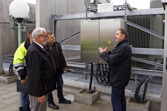 Für 1,3 Millionen Euro hat die EnBW ihr Umspannwerk aufgerüstet